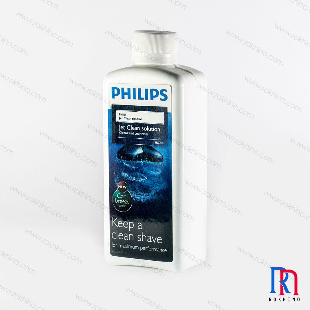 محلول تمیز کننده ماشین اصلاح فیلیپس